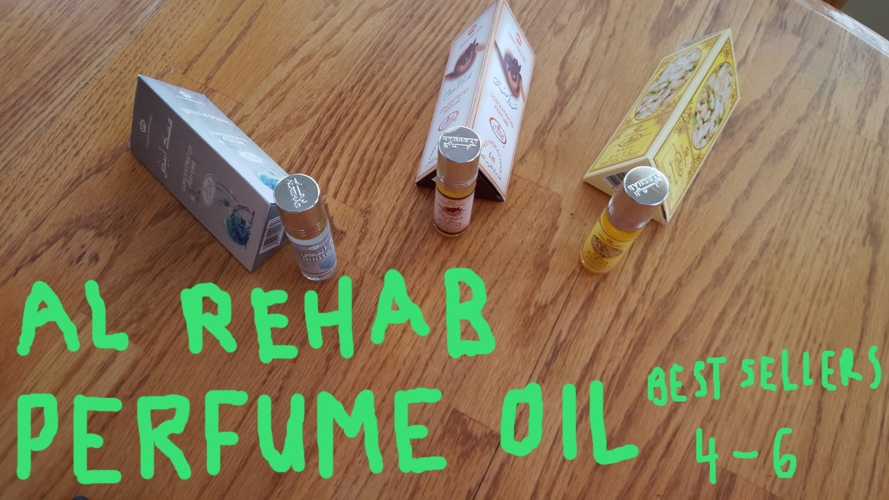 Al Rehab Perfume Oil Best Sellers 4 6 Review Vlog Youtube Parfum White Musk Minyak Wangi