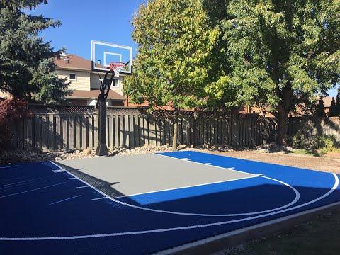 How to build a Backyard Basketball Court