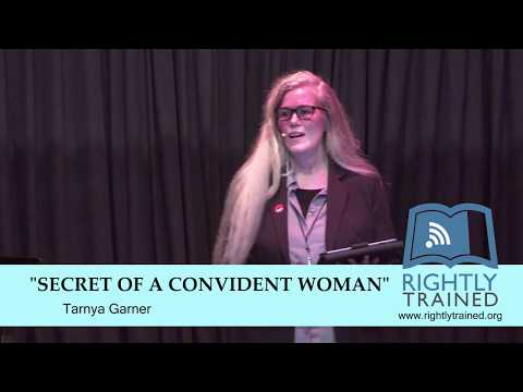"""The Secret of a Confident Woman"" by Tarnya Garner"