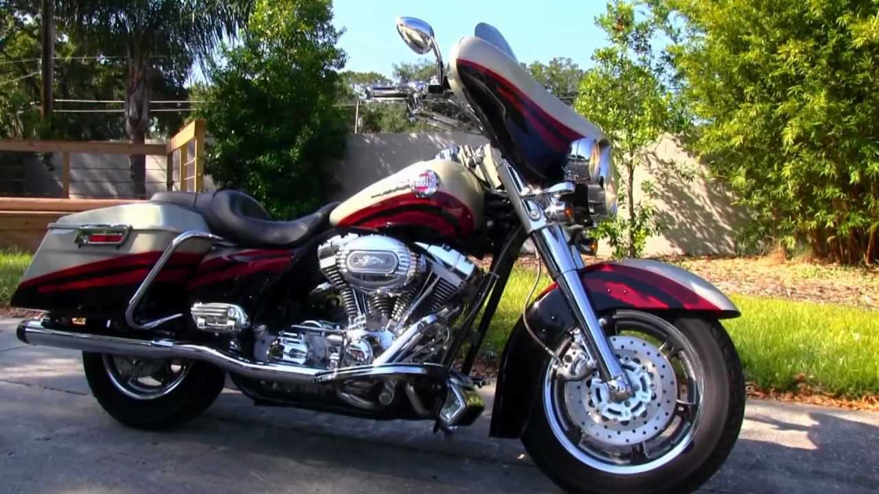 Used Cvo For Sale On >> Used 2006 Harley-Davidson Ultra Classic Electra Glide Screaming Eagle CVO FLHTCUSE - YouTube