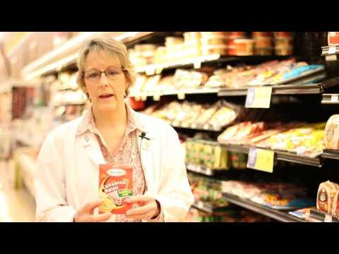 Grocery store nutritional Tour Video