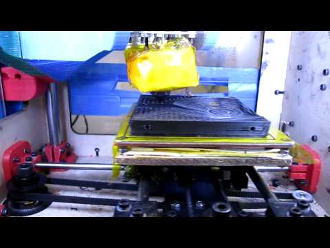 MiseryBot Running Jetty's Accelerated Firmware MakerBot CupCake Thing-O-Matic