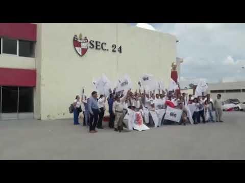 PETROLEROS LLEVAN A CABO  ELECCIONES PARA DIRIGENTES DEL STPRM DE LA SECCIÓN 24