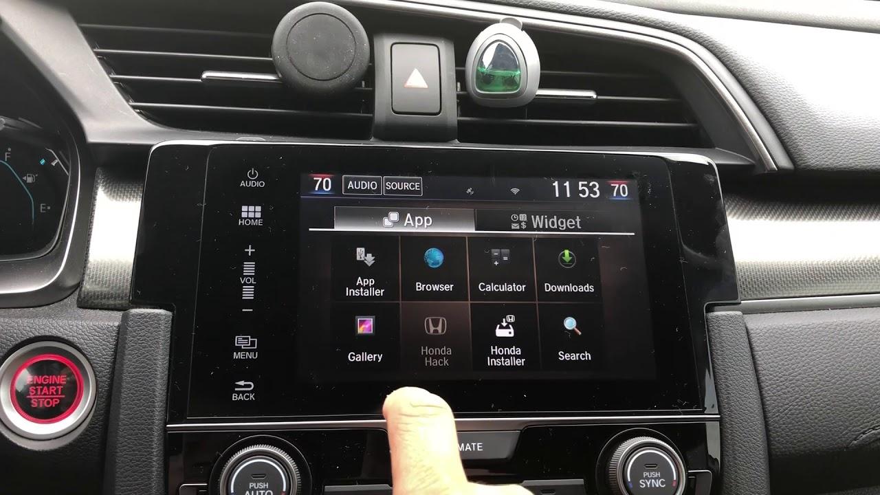 Honda hack 9th 10Th 2017/18 hatchback bypass break installing apks