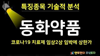 동화약품 기술적 분석_앤트맨의주식채널