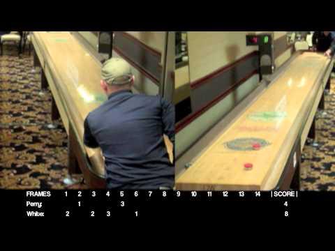 2012 North American Shuffleboard Championships: Pro Singles: Bob Perry vs. Craig White