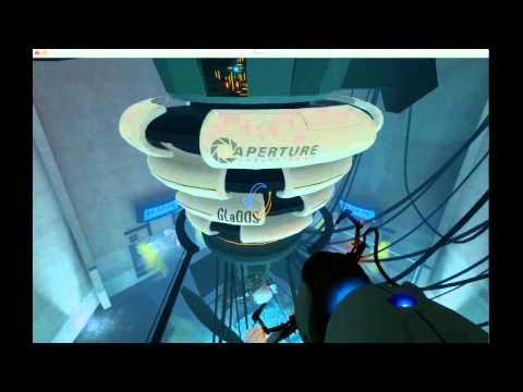 Portal 1 Final Boss Fight Glados