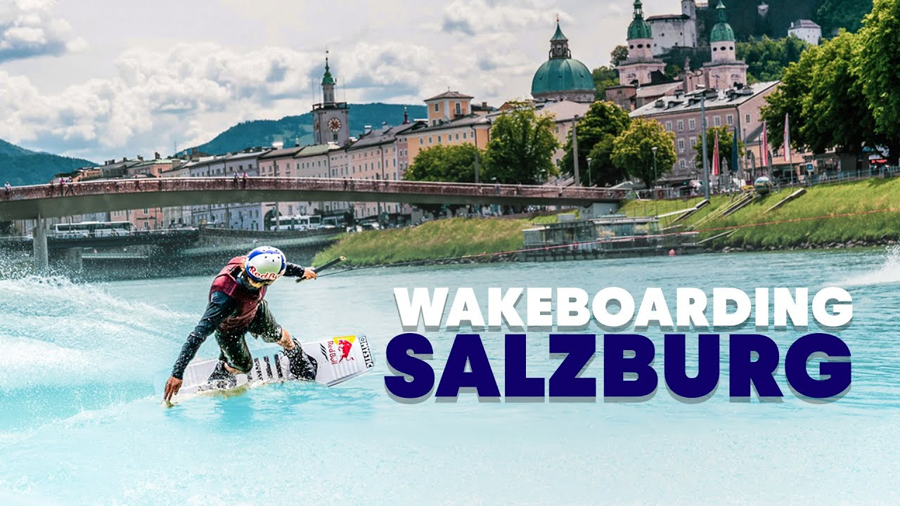 Sightseeing Mozart's Hometown with a... Wakeboard | Wakeboarding Salzburg w/ Dom Hernler