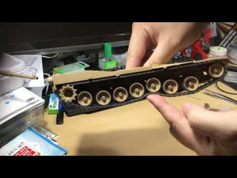 RM-5004 M-1 A2 TUSK 1/2 Moveable Track