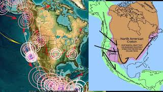 12/26/2017 -- New deep earthquakes strike West Pacific -- Pressure transfer across North America