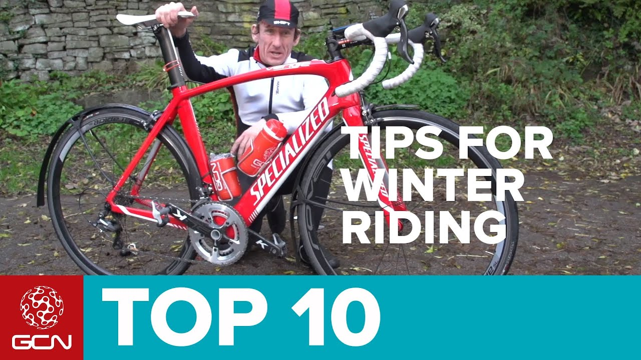 Top 10 Tips For Cycling In Winter