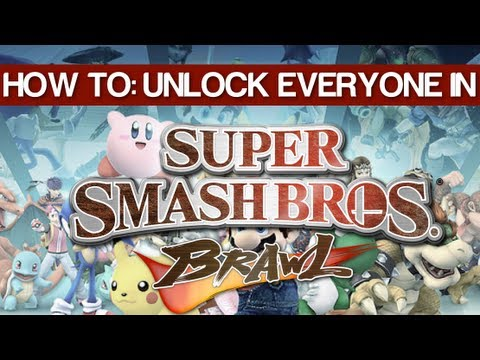 How To: Unlock All Characters In Brawl! ( EASY METHOD )