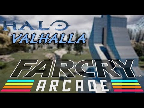 FAR CRY Arcade Custom Map #2: Valhalla - Halo 3 Remake (XBOX ONE X)