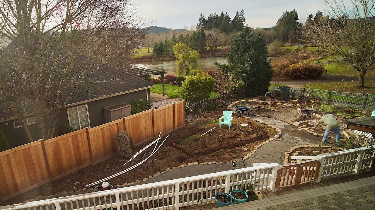 Total Yard Makeover Timelapse By 7 Dees Landscaping