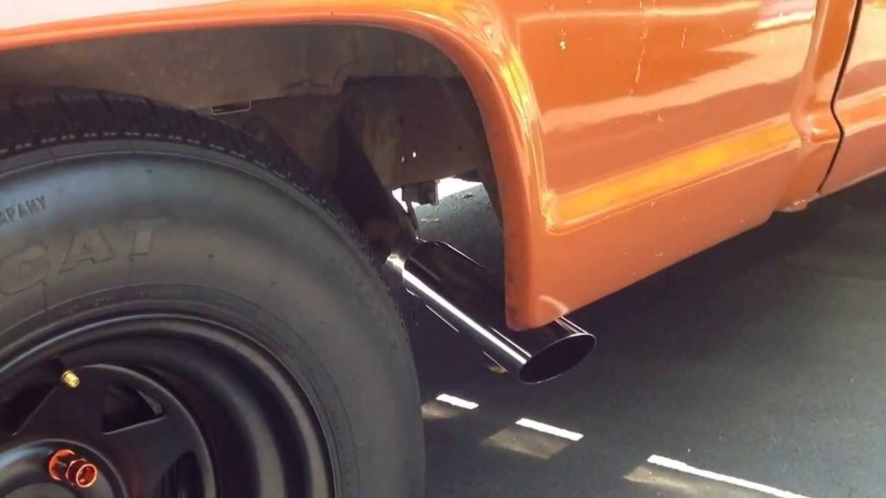 small resolution of 1970 ford f100 exhaust system
