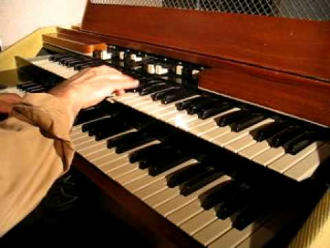 portable hammond organ bach two part invention youtube. Black Bedroom Furniture Sets. Home Design Ideas