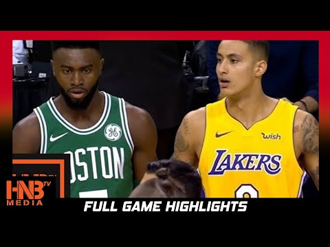 Los Angeles Lakers vs Boston Celtics 1st Qtr Highlights / Week 4 / 2017 NBA Season