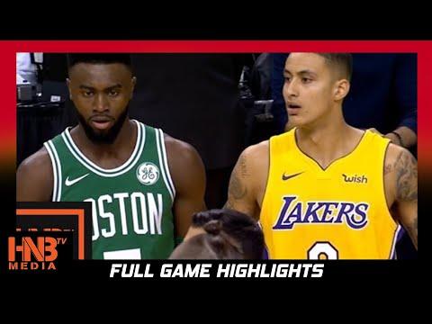 Los Angeles Lakers vs Boston Celtics 1st Qtr Highlights / Week 4 / 2017 NBA Season