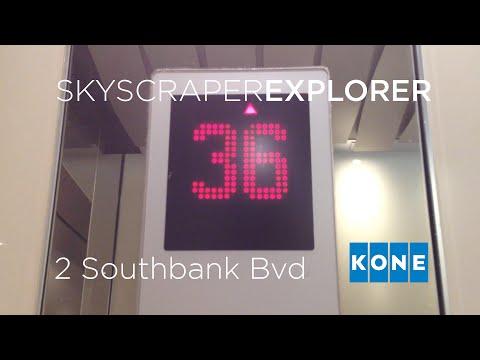 SKYSCRAPER EXPLORER: Kone Alta Hi-speed Traction Lifts @ 2 Southbank Bvd