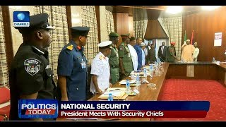 Buhari Meets With Security Chiefs, EFCC Vows To Probe Jamb Money Swallowing 'Snake' |Politics Today|