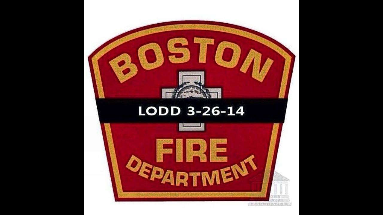 """Boston Fire, """"To The Fallen"""" Beacon Street Firefighters Tribute"""