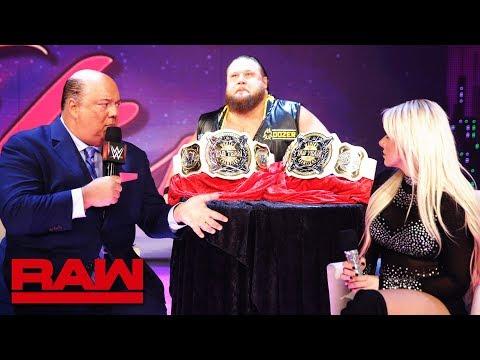 "Otis Dozovic interrupts ""A Moment of Bliss"": Raw, Jan. 14, 2019"