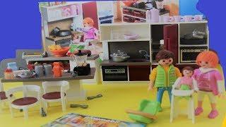 Playmobİl Oyuncak İle  Mutfak Turu /  Mutfak  Kutusunu AÇtik !  Eğlenceli Çocuk