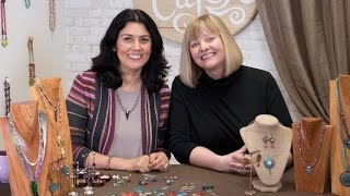 Artbeads Cafe - Gardanne Beads Enameled Jewelry Components with Cynthia Kimura and Anne Lichtenstein
