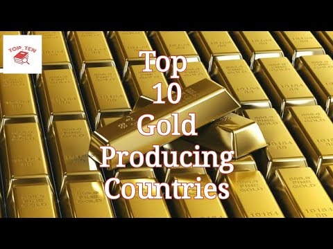 Top 10 Gold Producing Countries || TOP_TEN