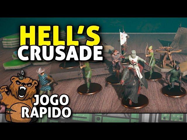 Demon Slayer da Idade Média - Hell's Crusade | Jogo Rápido - Gameplay PT-BR