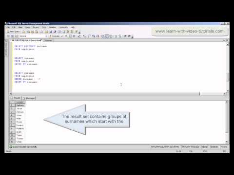 SQL GROUP BY, HAVING And Aggregate Functions, Video Tutorial - Full SQL Course For Beginners