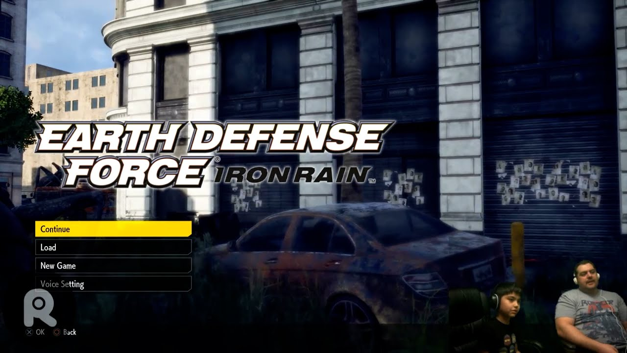 Earth Defense Force - Iron Rain - Gameplay on PS4