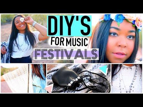 DIY Music Festival: Coachella Outfits + Essentials!