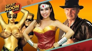Naked Video Game Characters, Indy 5 & Bootleg Star Wars Toys - Up At Noon Live(Internet warrior-woman Trisha Hershberger joins us this week to goof around about video game genitals, yet another Indiana Jones movie, and the dark side of ..., 2016-03-18T21:29:47.000Z)