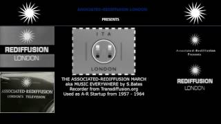 The Associated-Rediffusion March (Rediffusion TV 1957 - 1964 Start-up Music)