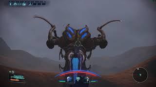 Mass Effect Legendary Edition Killing a Thresher Maw on foot