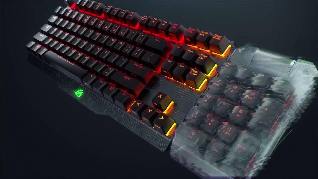 распаковка клавиатуры Steelseries 7G - YouTube