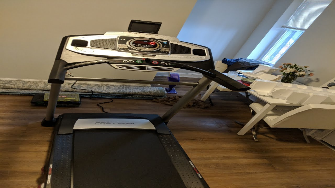 Pro-Form Treadmill only Shows Hello | ProForm 995i | Treadmill Assembly |  M A  Assembly Services