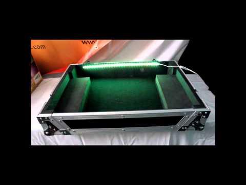 PRO X CASES Signature Seriers XS-DDJSX flight case with LED kit