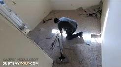 Carpet Installation Sacramento CA (Video Time Lapse)