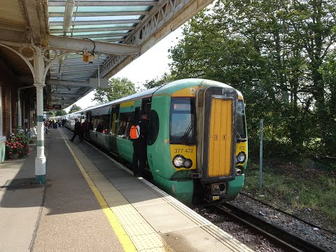 UK National Rail - Southern Railway Class 377 Electrostar EMU