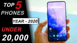 Best Smartphones Under 20000 in January 2020   Top 5 Phones under 20000   Best Phone Under 20000