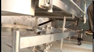 hospital Hydraulic Trolley - Manufacturer cmp metal