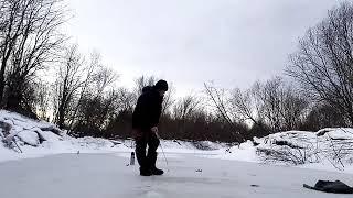 Рыбалка на хариуса река ПОЖВА