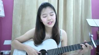 I See The Lights from Tangled Guitar cover by Samantha Jeen
