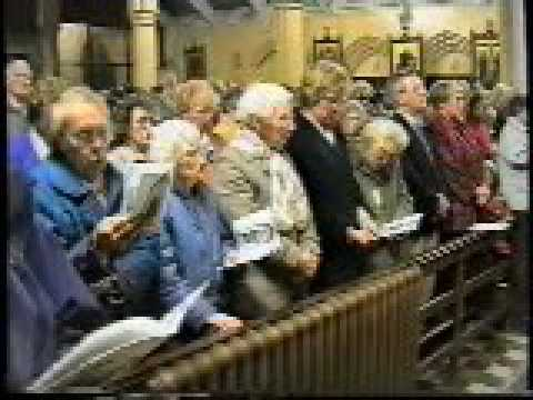 St Joseph church,Caroline st,Wigan ..the last mass