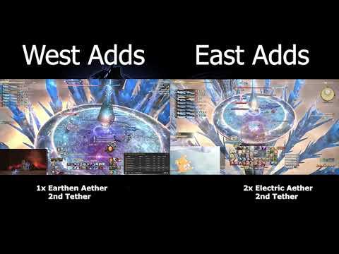 FFXIV - E8S Shiva Adds Phase EAST & WEST POV