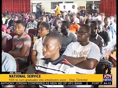 National Service - AM News on JoyNews (18-8-17)