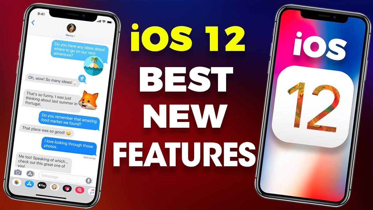 iOS 12 - 10 BEST NEW FEATURES FOR YOUR APPLE DEVICES | Compatible Devices |  IN HINDI