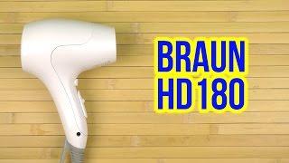 Розпакування BRAUN HD 180